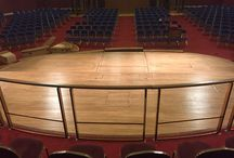 Grand Hall Sanding & Sealing / Client: A member of the Historic Conference Centres of Europe. Brief: To sand & seal hundreds of square metres in the historic conference centre