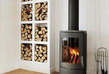 Fireplace & Woodstorage