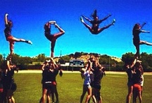 cheerleading. <3 / by Kylah Mccord
