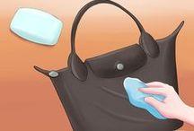 cara membersihkan longchamp