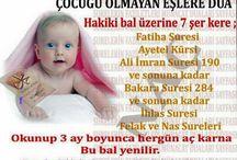 bebek duası