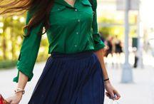 business attire inspiration / by Jessica Schofield