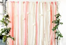 Photo Booth and Wedding Backdrops