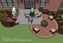 HOUSE; patio