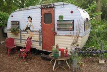 vintage trailers.
