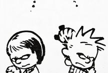 Calvin, Hobbes and Susie.
