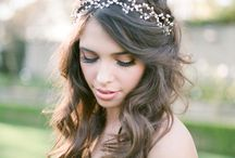 Wedding hairstyles#vintage#boho#april