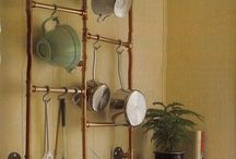 Copper pipe ideas