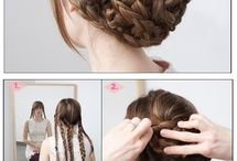 Hairstyles ♚ / All hairstyles and beauty tips.