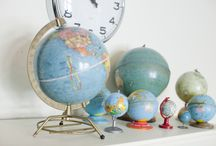 KIdimo aime les globes terrestres, les mappemondes