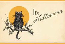 """.halloween. / """"When witches go riding, and black cats are seen, the moon laughs and whispers, 'tis near Halloween."""" ~Author Unknown {{My favorite holiday}}   / by JoAnna Northington"""