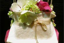 сумочки из цветов