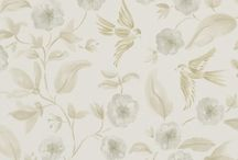 Sanderson Wallpaper. Aegean / The new 2013 Aegean collection from Sanderson #InteriorDesign