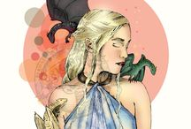 Game of Thrones illustrations / my own fan art illustrations
