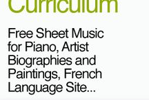 French history, music and art