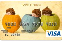Anne Geddes Visa® Credit Card / When was the last time handing over a credit card started a conversation or caused a smile?  www.annegeddes.com/creditcards / by Anne Geddes