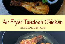 Air Fryer Recipes / A collection of delicious air fryer recipes including appetizers, main courses and desserts.