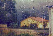 fotografia con pioggia