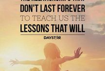 Tough lessons / by Angie Blackwell