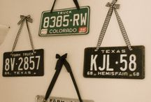 License Plate Decor and Project Ideas