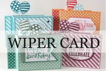 Wiper cards