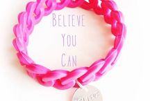The Pink Bracelet  / The Pink Bracelet is a reminder of belief, a symbol of positivity, a motivation to move forward and never never give up.  Get yours now and start living positive !!!! :)  Follow The Pink Bracelet on :   Instagram : http://instagram.com/thepinkbracelet  Facebook : www.facebook.com/thepinkbracelet