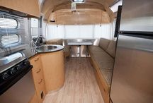 RV Interiors / Daydream about the glamping lifestyle by taking a closer look at these Class A, Class B, Class C, travel trailers, fifth wheels, truck campers, and pop up camper interiors.