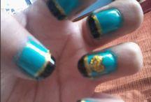 NAILS / Diseños de uñas hechos por mi.  Algunos son creados mientras que otros no.