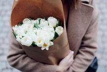 Flowers in fashion looks