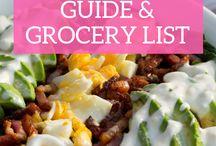 Keto Diet & Grocery List