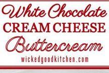 Whitney chocolate cream cheese frosting