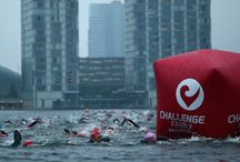 Challenge Almere-Amsterdam 2014 / In 2014, the Challenge Almere-Amsterdam took place on 12, 13, and 14 September. The highlight of this weekend was the European Championship Long Distance Triathlon (3,8km-180km-42,2km) on Saturday 12 September. Markus Fachbach (GER) and Heleen Bij de Vaate (NED) were crowned as European champions! (photos by Charlie Crowhurst/Getty Images 2014, Erik Frings, and Tije Vlam)