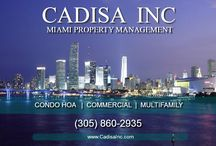 Miami Property Managers / Property Management Services - CADISA Inc is Miami's most trusted property management company for Condo HOA, Commercial and Multifamily in Miami, downtown Miami, Miami Beach, Aventura, Brickell and nearby areas. http://CadisaInc.com CADISA Inc 2050 Coral Way Ste 402, Miami FL 33145 Tel 305-860-2935.
