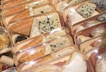 F and B / Cheeses salami etc