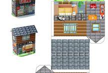 Paper houses / paper houses - papírové domy