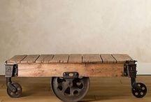 Huonekaluja - furniture / Valmiita mööpeleitä tai itse tehtäviä