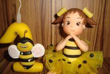 vela abelhinha