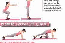 :-P günlük egzersizler