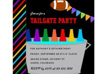 Football Tailgate Party Suite / Football Party collection customizable to your specifics.