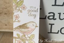 Stampin' Up! Tags on my blog / Fun tags to make using Stampin' Up! products