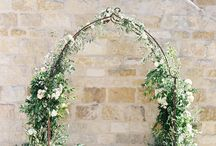 Wedding: Greek inspired garden wedding
