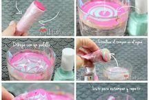 Nail-art tutorials / Nail-art tutorials i find amazing!