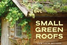 Green roofs & garden shed