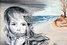 I miei dipinti / Dipinti a olio su tela e dipinti a olio su tavola
