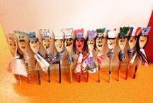 Mes bricos / Voici tous les bricolages que je fais avec les enfants