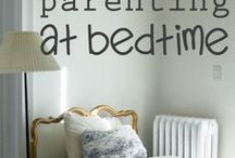 Bedtime prayers and routine