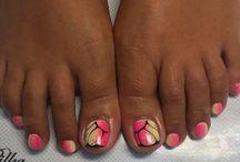 Стопы ногти
