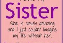 Sister loving things