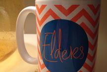 Monogrammed Coffee Mugs