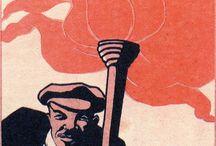 Российские и советские плакаты / by larissa
